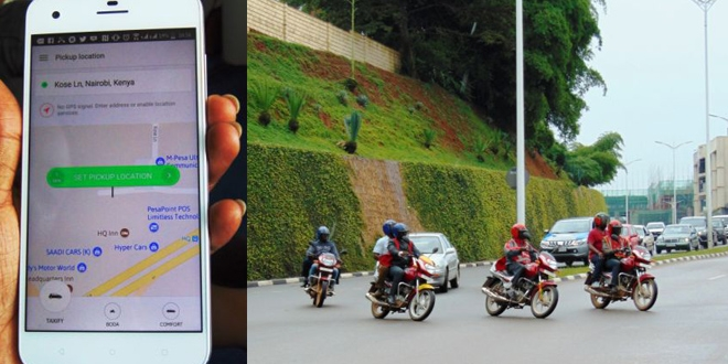 Uber and taxify are going head-to-head to digitize Africa's two-wheel